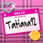 Профиль Tatiana92